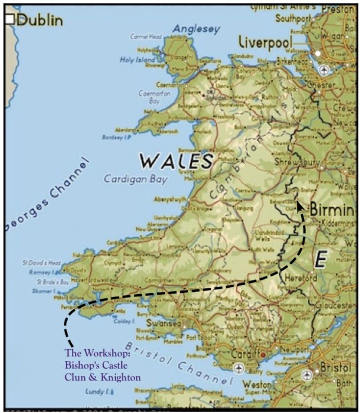 Wkshp Wales map