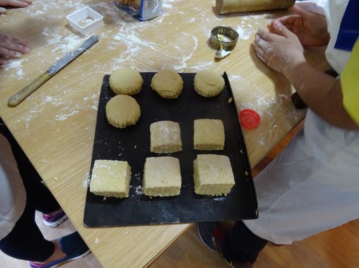 18 scones